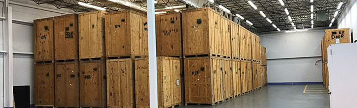 Secured and climate controlled short and long term storage solutions