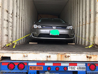 Great Nation Moving Car shipping container to Hawaii