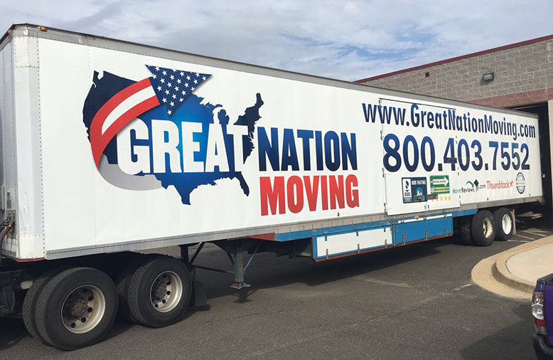 A happy family after their interstate move, thanks to Great Nation Moving.