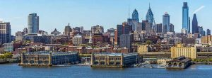 Panoramic picture of Philadelphia