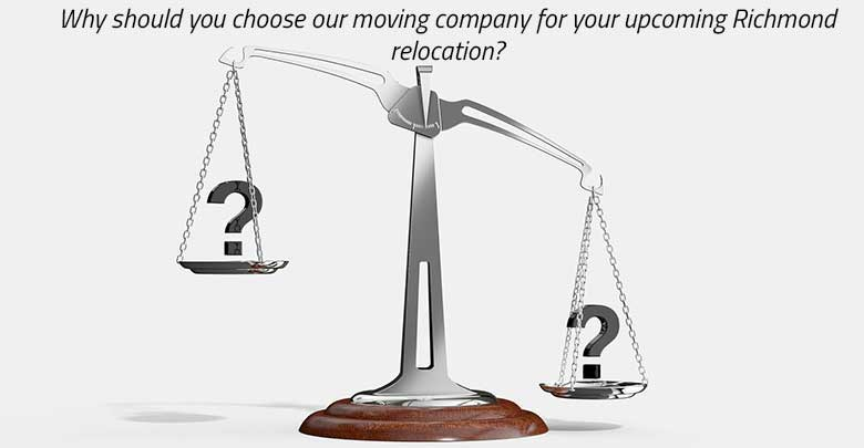 Choose a moving company