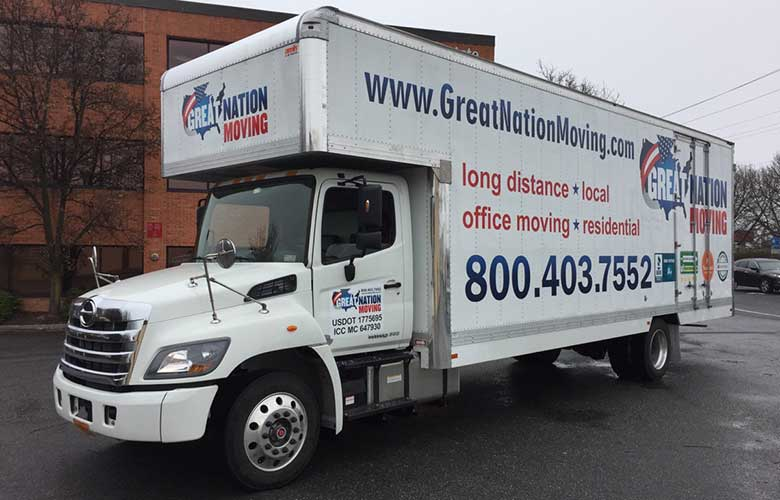 Truck for short distance relocation